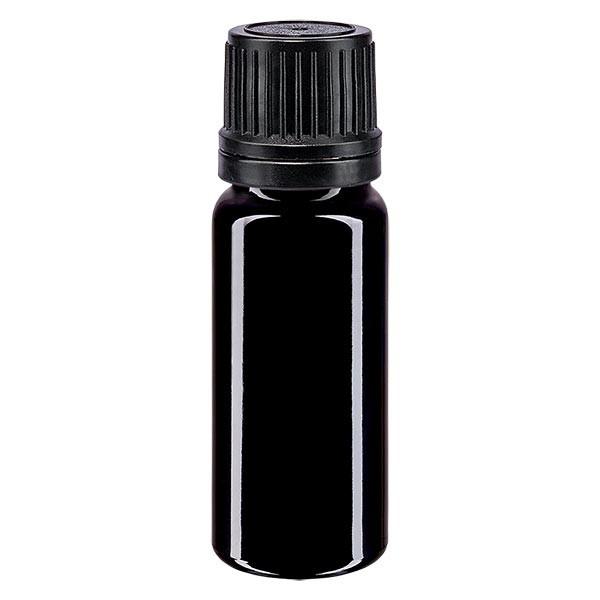 10 ml Violettglas Tropfflasche / Tropfeinsatz Glas Ätherische Öle