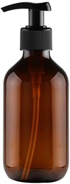 250 ml Dispenser Glas Flasche mit Spender für Ätherische Öle Braunglas